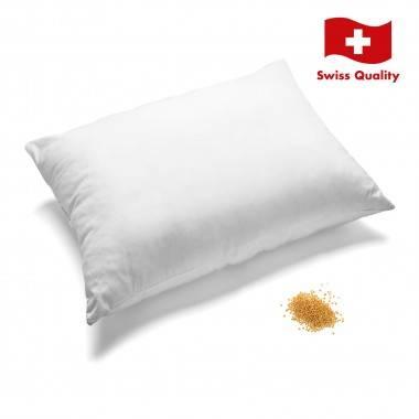 Coussin de santé avec grains de millet HIRSETTA