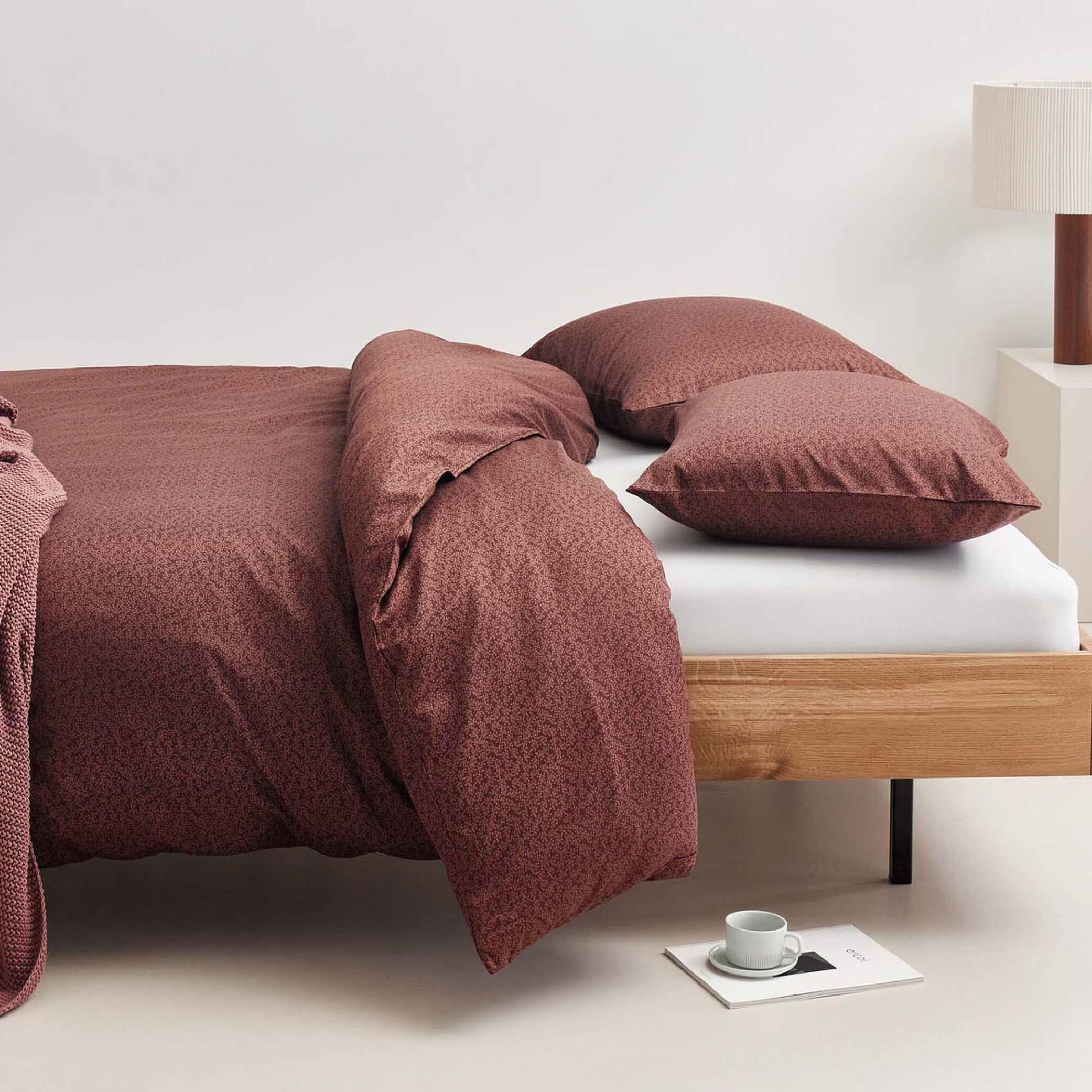 Linge de lit en coton LEVIA