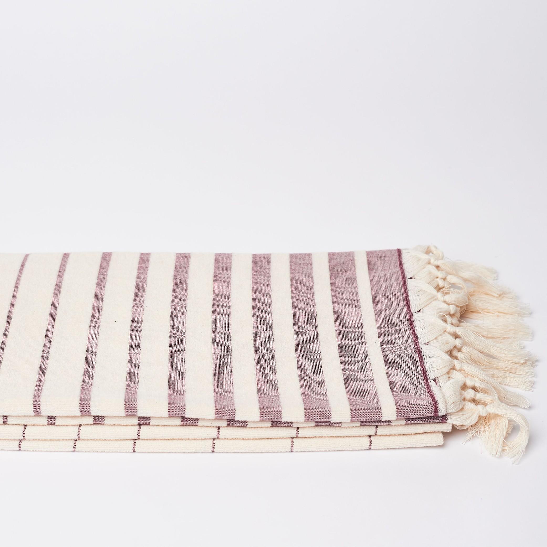 Hamamtuch FARILYA aus Bio-Baumwolle
