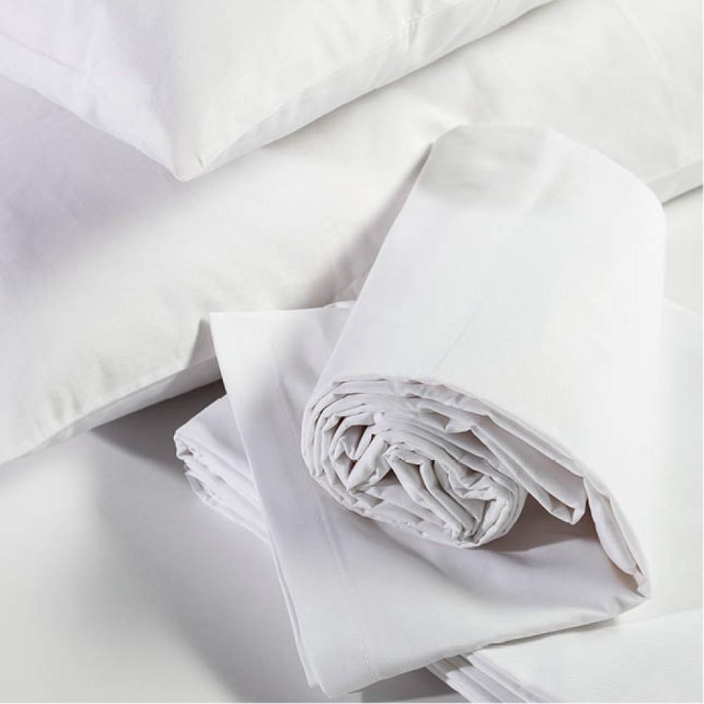 Drap de lit tissé DUKE en pur coton