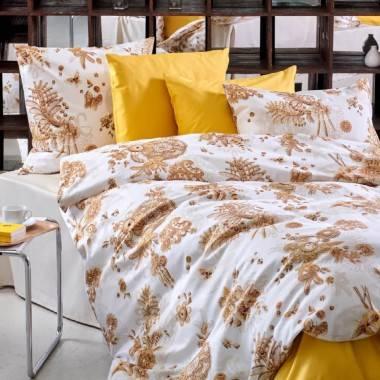 Linge de lit imprimé PAGLINA en satin de coton luxueux de Christian Fischbacher