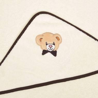 Linge à capuche brodée TEDDY