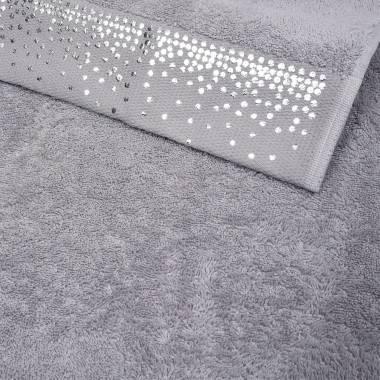 Gästehandtuch-Set STARLET mit glamourösem Foliendruck