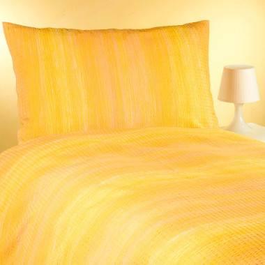 Bettwäschegarnitur FLORIDA aus Baumwollkrinkel
